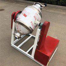 供应50公斤腰鼓式搅拌机 白糖面粉混小型不锈钢混料机厂家