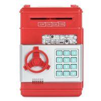 大号创意仿真儿童卡通ATM密码保险自动卷钱机硬币存钱罐储蓄罐