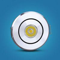 彩色 LED射灯1W 天花灯 牛眼灯 卫生间酒柜灯5-6CM小射灯