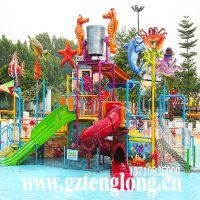 儿童主题水屋水寨大型水上游艺游乐设施厂家水上乐园设备