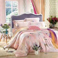 夏季双面100%纯天丝4四件套冰丝床单真丝被套1.8m米床上用品