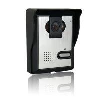 7寸有线高清彩色可视对讲门铃 红外夜视 门铃摄像机 门铃摄像头