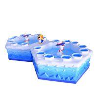 小金宝儿童鱼池游乐设备蛋糕鱼池海洋鱼池荷花鱼池儿童游乐设备
