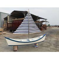 福建景观花船厂家出售户外装饰船 景观木船 价格实惠