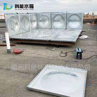 科能镀锌水箱 装配式消防镀锌钢板水箱 美观强度高