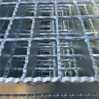 防滑钢格板 转运站格栅板 仓库货架板