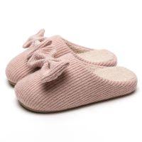 2018新款家居棉拖鞋冬天情侣室内居家EVA布艺拖鞋