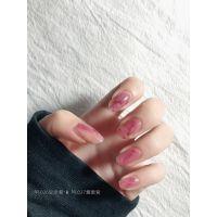 搭配乳白色指甲油小女孩粉嫩公主秋季魅力简约彩色撕拉型持久夏日