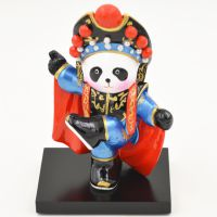 功夫熊猫 Q版卡通京剧脸谱桌面摆件创意时尚精致汽车装饰品工艺品