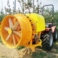 新型自走式果园打药机 小型果园打药喷雾机 拖拉机背负式风送果树喷雾机 山东金原装备