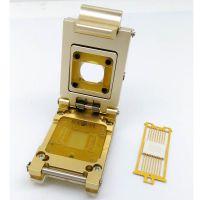 定制PLCC20合金翻盖探针测试座 PLCC20芯片socket 编程老化座