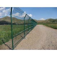 珠海种植围栏网 庭院防护网 护栏网 绿色包胶网