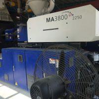 卧式工厂出售海天MA380T省电伺服二手注塑厂家出售注塑机转让广东注塑机采购市场卧式注塑机买卖