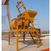 建筑工程搅拌机械设备 JS系列双卧轴搅拌机 搅拌站全爬上料搅拌机