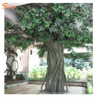 大型仿真榕树多少钱一棵 包柱子古榕树 假榕树仿真大树生产厂家