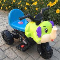 新款大象儿童电动车儿童电动摩托车儿童电瓶车童车