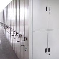 武新档案密集架 有轨电动移动密集柜 手动密集架 智能资料室手摇式文件柜