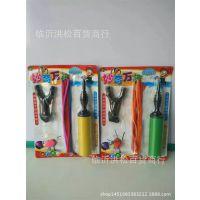 批发热销儿童玩具 吸卡彩色气球组合套装 带打气筒多款式气球板