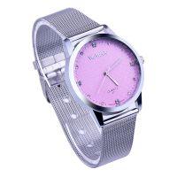 WoMaGe 时尚镶钻女士手表 超薄合金表链 休闲时尚商务手表石英表