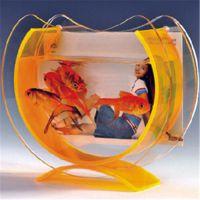 厂家定做直销 深圳有机玻璃制品亚克力有机玻璃迷你居家摆式鱼缸