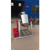 供应不锈钢腰鼓式搅拌机 中小型化工干粉颗粒食品混料机 滚筒式混合机