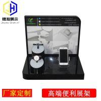 手机和手表同时展示亚克力板材制作东莞工厂定制电子类产品展示架