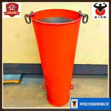 供应新型混凝土灌浆串筒 建筑施工用塔机料斗 高空浇筑专用串筒