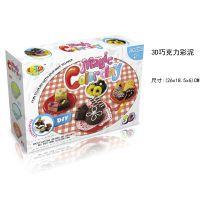 超轻粘土多色套装 3D彩泥盒装 儿童DIY益智玩具新型橡皮泥批发