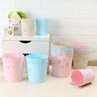 厕所垃圾桶家用无盖卫生间客厅卧室厨房简约塑料圆形大号垃圾筒