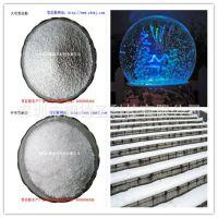 一般纳税人雪飘粉生产厂家批发高品质环保水球白色颗粒 雪花亮片