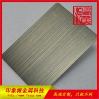 厂家供应正品304青古铜亮光不锈钢镀铜板