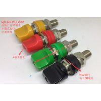 JXZ-5D M12*80接线柱全铜螺杆12mm/200A大电流纯铜端子4mm香蕉插