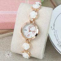 韩版时尚潮流款金链子缠绕式手表休闲手链女士手表学生编织石英表