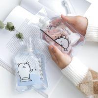 LiGo卡通PVC迷你热水袋注水充水暖水袋防爆便携透明小号暖手宝