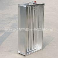 防火设备白铁阀 厂家直销 风阀可定制 空调设备白铁阀正纳空调