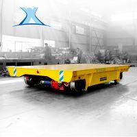 100t低压轨道平板小车运转车车间设备运输车非标定制