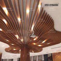供应北京铝方通天花吊顶 创意造型吊顶铝扣板厂家定制