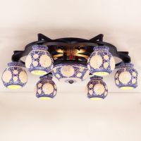 陶瓷灯具客厅中式陶瓷灯具图片陶瓷台灯陶瓷台灯厂