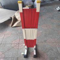 玻璃钢管式安全围栏 红白 河北泽宁厂家直销