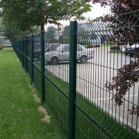 圈地养殖防护 厂区 车间 浸塑低碳钢丝隔离护栏网 机场双边护栏网