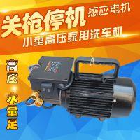 上海四隆SL1500p小型高压清洗机便携式家用自吸清洗设备洗车机