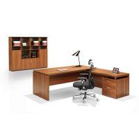 简约实木大班台老板桌办公家具可定制批发