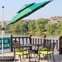 户外遮阳伞庭院伞太阳伞沙滩伞折叠大型广告伞摆摊伞防晒防紫外线