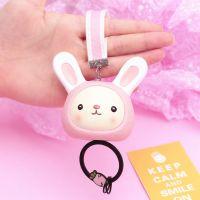 卡通韩国可爱创意咔咔兔钥匙扣女士汽车钥匙链挂件圈环手工饰品