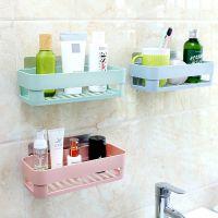 批发卫生间塑料置物架洗漱用品储物架浴室厕所厨房卫浴收纳架厚款