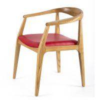 厂家直销红色皮革装饰餐厅椅 家居椅