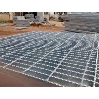 陕西西安镀锌钢格板现货1000*1000mm 化工厂电厂平台专用镀锌格栅板