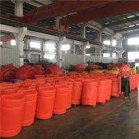聚乙烯浮筒式拦污排大距离管式拦漂浮筒直销