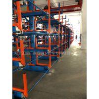 广东伸缩悬臂货架设计图纸 管材货架案例 杭州钢管存放架