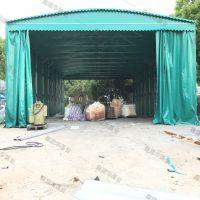 卢龙县室外活动伸缩雨棚_布 带轮子移动推拉帐篷定做电话